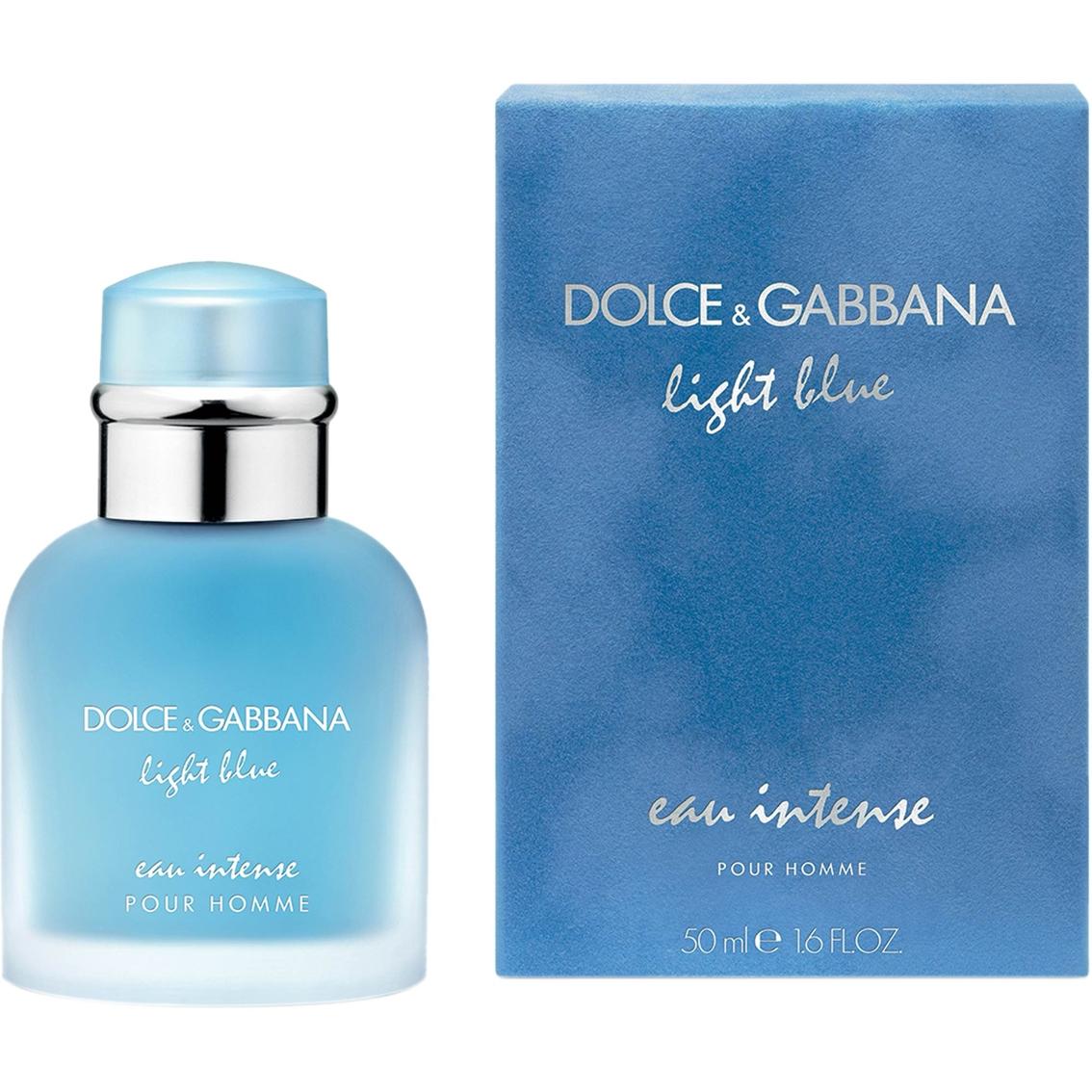 dolce gabbana light blue pour homme eau intense eau de parfum 50m appasia e marketplace. Black Bedroom Furniture Sets. Home Design Ideas