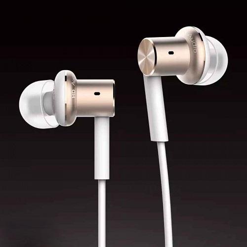 XIAOMI Mi Piston Hybrid Hi-Res Quantie In Ear Headphone Headset (Gold) - AppAsia e-Marketplace